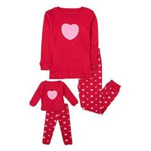 Leveret Toddler  Matching Doll Pajamas 2